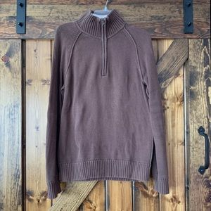 Men's Aeropostale brown sweater